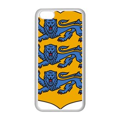 Lesser Arms of Estonia  Apple iPhone 5C Seamless Case (White)