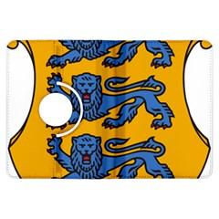 Lesser Arms of Estonia  Kindle Fire HDX Flip 360 Case