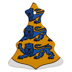 Lesser Arms of Estonia Christmas Tree Ornament (Two Sides)