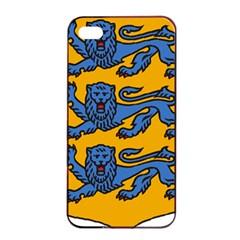 Lesser Arms of Estonia Apple iPhone 4/4s Seamless Case (Black)