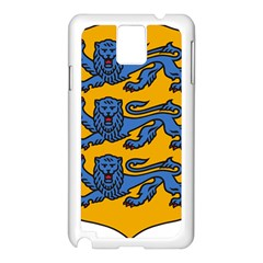 Lesser Arms of Estonia Samsung Galaxy Note 3 N9005 Case (White)