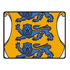 Lesser Arms of Estonia Double Sided Fleece Blanket (Small)