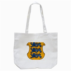 Lesser Arms of Estonia Tote Bag (White)
