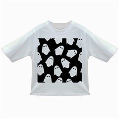 Ghost Halloween Pattern Infant/toddler T Shirts