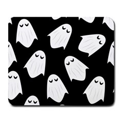 Ghost Halloween Pattern Large Mousepads