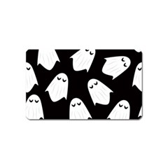 Ghost Halloween Pattern Magnet (name Card)