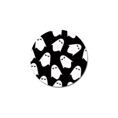 Ghost Halloween Pattern Golf Ball Marker