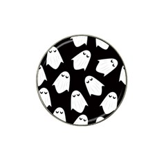 Ghost Halloween Pattern Hat Clip Ball Marker (10 pack)