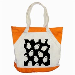 Ghost Halloween Pattern Accent Tote Bag