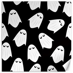 Ghost Halloween Pattern Canvas 16  x 16