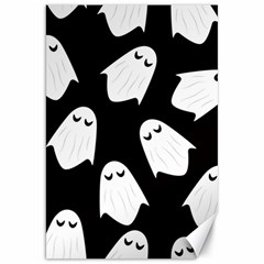 Ghost Halloween Pattern Canvas 20  X 30