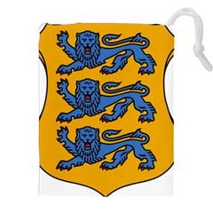 Lesser Arms of Estonia Drawstring Pouches (XXL)