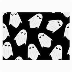 Ghost Halloween Pattern Large Glasses Cloth