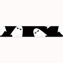 Ghost Halloween Pattern Small Bar Mats