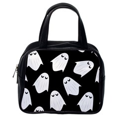 Ghost Halloween Pattern Classic Handbags (one Side)