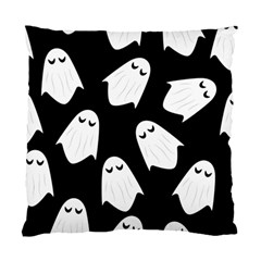 Ghost Halloween Pattern Standard Cushion Case (two Sides)