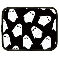 Ghost Halloween Pattern Netbook Case (xxl)