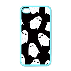 Ghost Halloween Pattern Apple Iphone 4 Case (color)