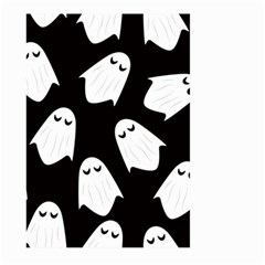 Ghost Halloween Pattern Large Garden Flag (two Sides)