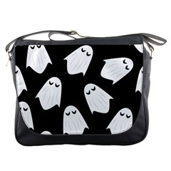 Ghost Halloween Pattern Messenger Bags