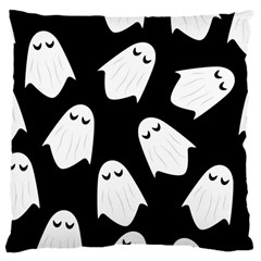 Ghost Halloween Pattern Large Cushion Case (two Sides)