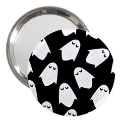 Ghost Halloween Pattern 3  Handbag Mirrors