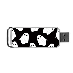 Ghost Halloween Pattern Portable Usb Flash (two Sides)