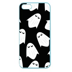 Ghost Halloween Pattern Apple Seamless Iphone 5 Case (color)