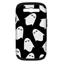 Ghost Halloween Pattern Samsung Galaxy S Iii Hardshell Case (pc+silicone)