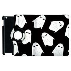 Ghost Halloween Pattern Apple Ipad 3/4 Flip 360 Case