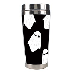 Ghost Halloween Pattern Stainless Steel Travel Tumblers