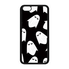 Ghost Halloween Pattern Apple Iphone 5c Seamless Case (black)