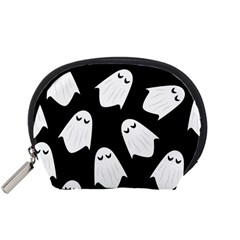 Ghost Halloween Pattern Accessory Pouches (small)