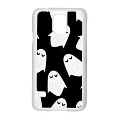 Ghost Halloween Pattern Samsung Galaxy S5 Case (white)