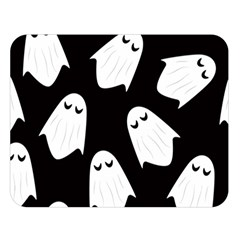 Ghost Halloween Pattern Double Sided Flano Blanket (Large)