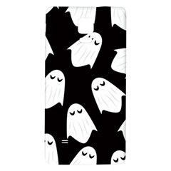 Ghost Halloween Pattern Galaxy Note 4 Back Case