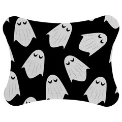 Ghost Halloween Pattern Jigsaw Puzzle Photo Stand (Bow)