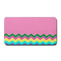 Easter Chevron Pattern Stripes Medium Bar Mats