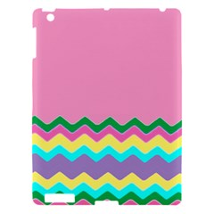Easter Chevron Pattern Stripes Apple Ipad 3/4 Hardshell Case