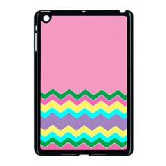 Easter Chevron Pattern Stripes Apple Ipad Mini Case (black)
