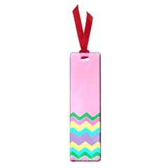 Easter Chevron Pattern Stripes Small Book Marks
