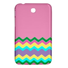 Easter Chevron Pattern Stripes Samsung Galaxy Tab 3 (7 ) P3200 Hardshell Case
