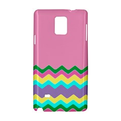 Easter Chevron Pattern Stripes Samsung Galaxy Note 4 Hardshell Case
