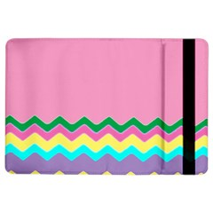 Easter Chevron Pattern Stripes Ipad Air 2 Flip