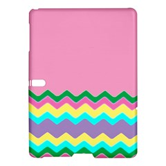 Easter Chevron Pattern Stripes Samsung Galaxy Tab S (10 5 ) Hardshell Case