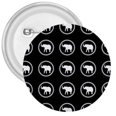 Elephant Wallpaper Pattern 3  Buttons
