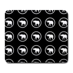 Elephant Wallpaper Pattern Large Mousepads