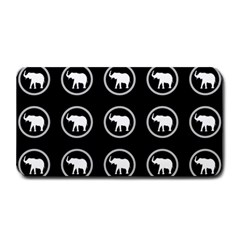 Elephant Wallpaper Pattern Medium Bar Mats