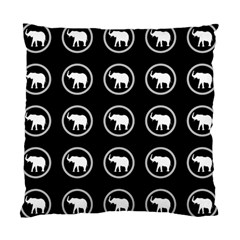 Elephant Wallpaper Pattern Standard Cushion Case (one Side)