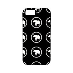 Elephant Wallpaper Pattern Apple Iphone 5 Classic Hardshell Case (pc+silicone)